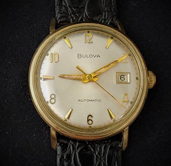 Vintage 1967 BULOVA Automatic Men's Watch Cal. 11B