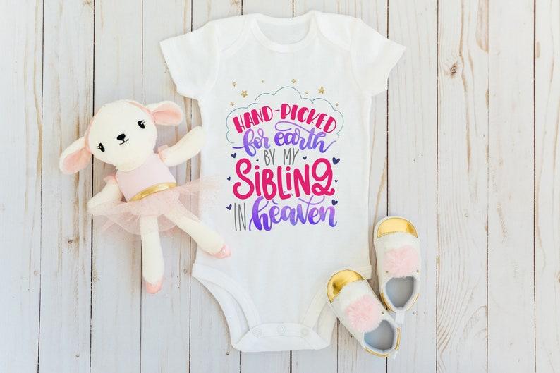 Handpicked for Earth Rainbow Baby Girl Bodysuit