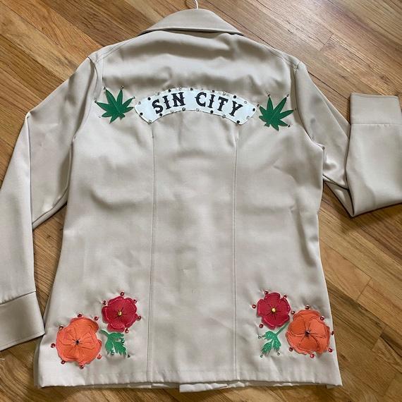 Vintage Western Leisure Jacket - Gram Parsons Nud… - image 1