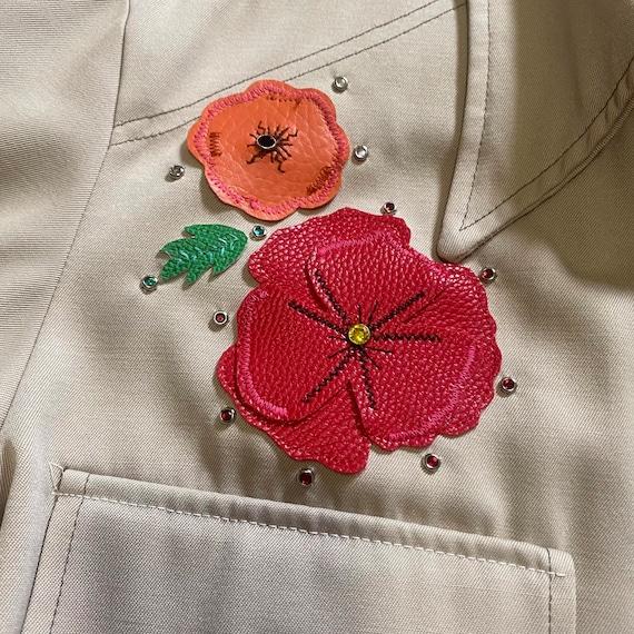 Vintage Western Leisure Jacket - Gram Parsons Nud… - image 7