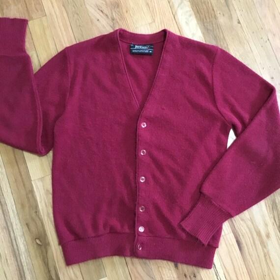 Vintage Jantzen Wool Blend Cardigan Sweater
