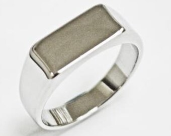 757cc4eff6 Signet Ring,Stainless Steel SIGNET Ring, Name Ring, Personalize Stainless  Steel Ring for Him, Men's Signet Ring