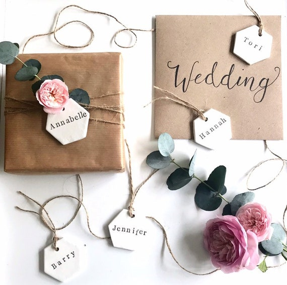 Personalised clay tag