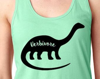 Herbivore Dinosaur Women's Tank