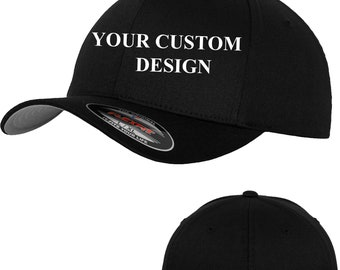 d10f7c070be01 Flexfit hat cap   Flexfit Wooly Combed   Custom Hat   Personalized  Embroidery   Your Custom Apparel   Custom Baseball Cap