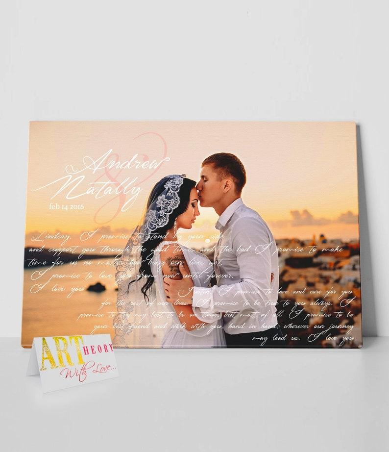 Wedding First Dance Song Lyrics, Song Lyrics Canvas Art, 1st Anniversary  Gift for Him, Custom Song Lyric Art, First Dance Framed