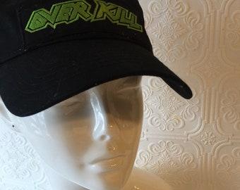 4eaac3c0ee0 Overkill Thrash Metal Baseball Hat