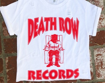 f6545c6c281 Upcycled Death Row Records T-shirt