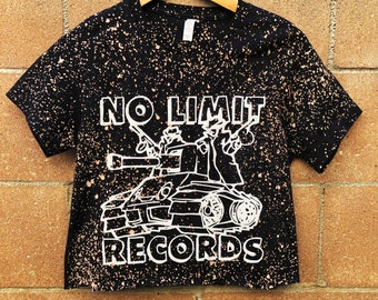 ab383d4ff9ea9 Upcycled No Limit Records top