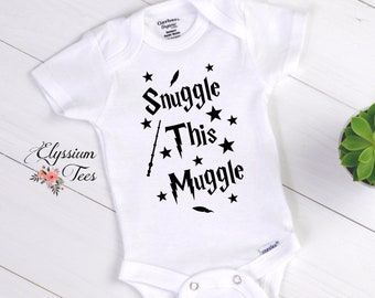 2413bdde6 Items similar to Protected by Love Harry Potter Baby Onesie