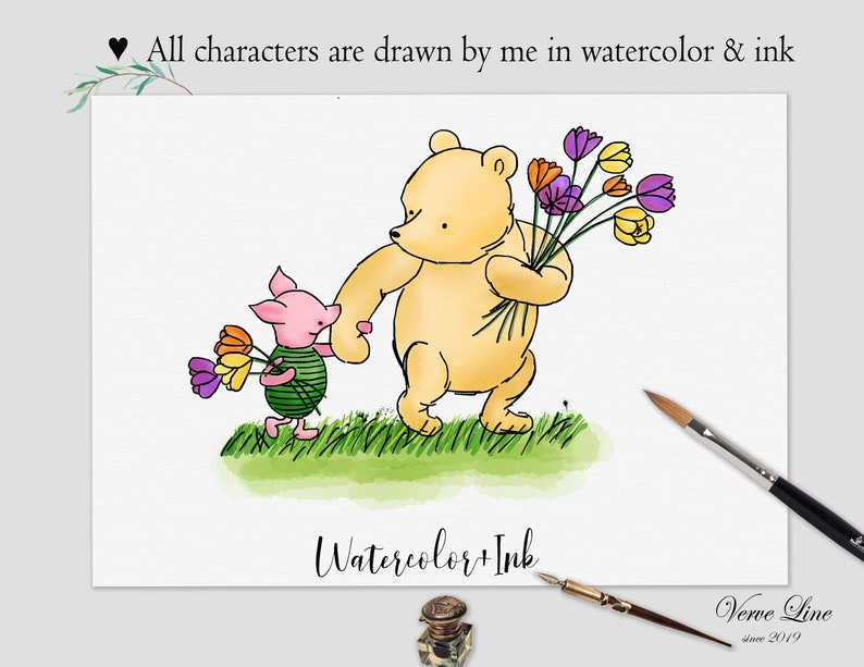 12 classic winnie the pooh quote baby shower birthday
