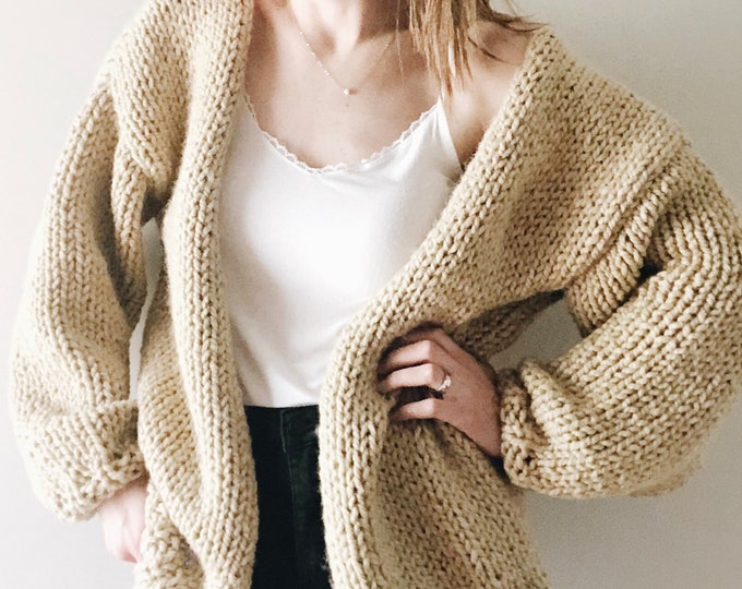 Featured listing image: The Cannady | knitting pattern