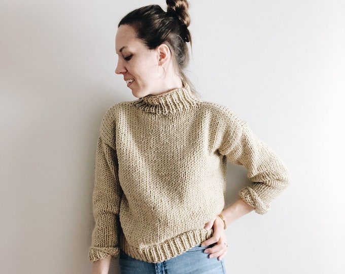 Featured listing image: The Riley | knitting pattern