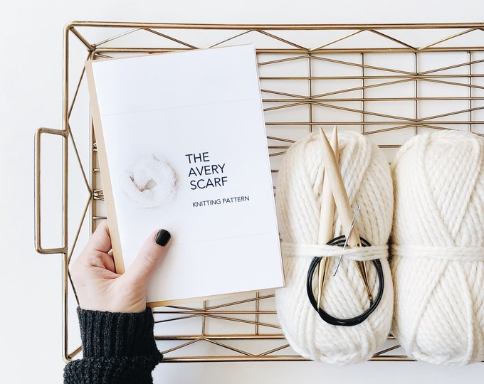 Featured listing image: The Avery | DIY scarf kit