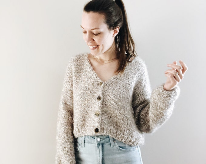 Featured listing image: The Adelia | knitting pattern