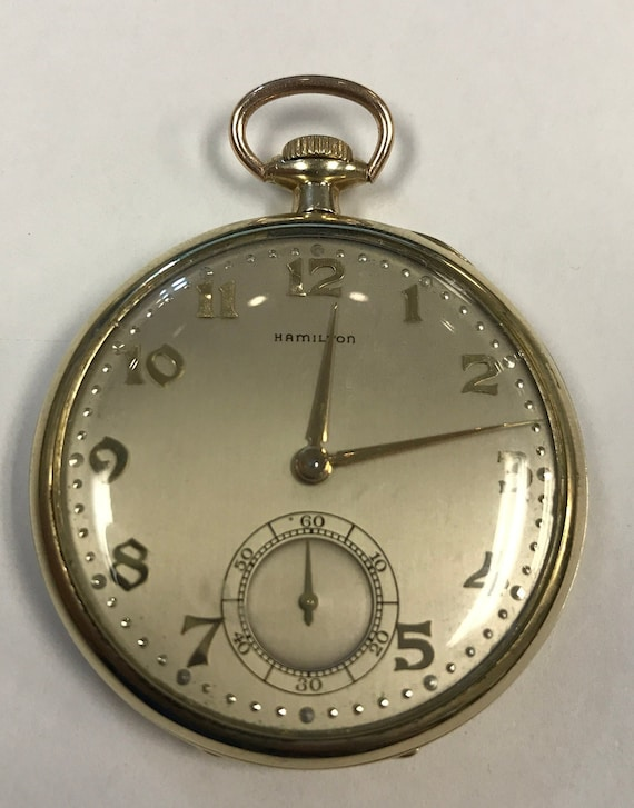 Hamilton - Railway special pocket watch NO RESERVE PRICE - 889858 - Herre - 1901-.