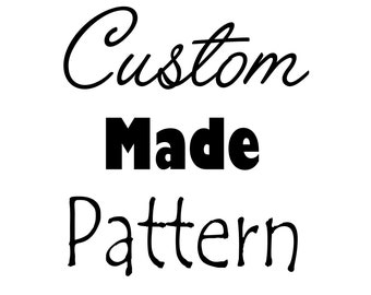 Custom Pattern for a folded book design, folded book art custom pattern,