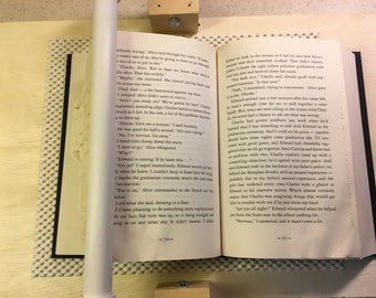 Page Pal - A Tool For Book Folding, page holder, book folding tool, folded book art tool
