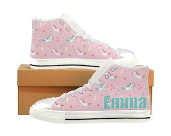 ab03a851337 Unicorn Birthday Shoes
