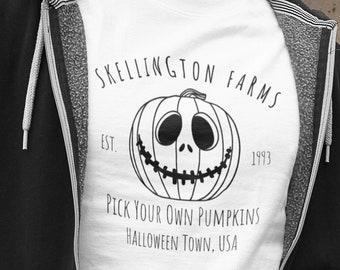 Disney Halloween Shirt Jack Skellington, Nightmare Before Christmas, Disney Shirt, Minimalist Disney Shirt, Men Disney Shirt, Halloween Tee