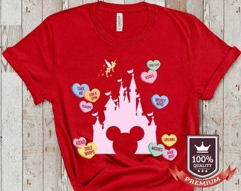 Disney Valentine Shirts