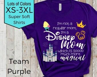 777127b8bc0ff Disney mom shirt | Etsy