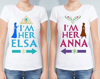 Disney Frozen Shirts | Disney Family Shirts | Elsa and Anna | Frozen Sisters | Disney Shirts | Plus Size Disney Shirt | Disney Tank Tops