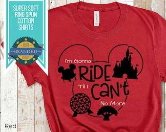 Custom Disney Shirt   Park Hopper Shirt   Disney Ride Shirt   Disney Shirts   Plus Size Disney   Disney Matching Family Shirt   Disney Squad