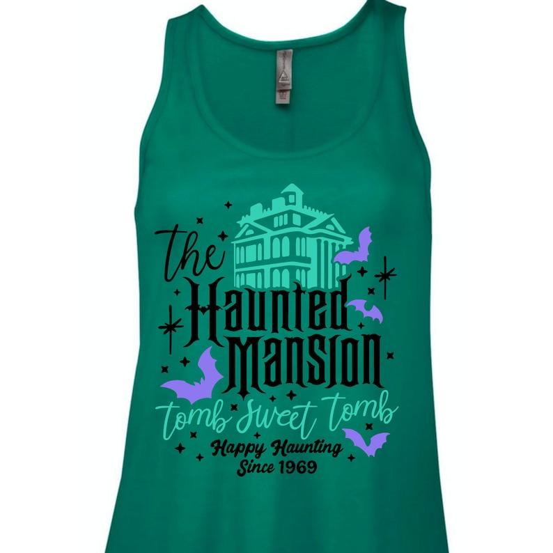 Disney Women/'s Tank Top Florida Vacation Tank Top Disneyland Tank Disney Haunted Mansion Tank Top Tomb Sweet Tomb Haunted Mansion Shirt