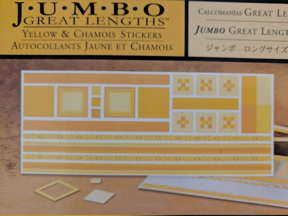 Creative Memories Jumbo Great Lengths Green /& Olive