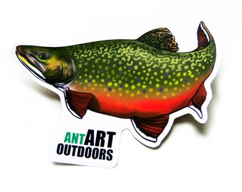 e14b95c9ae92 Brook Trout Decal