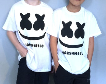 bbb980bf Personalised DJ Marshmello T-Shirt, Kids