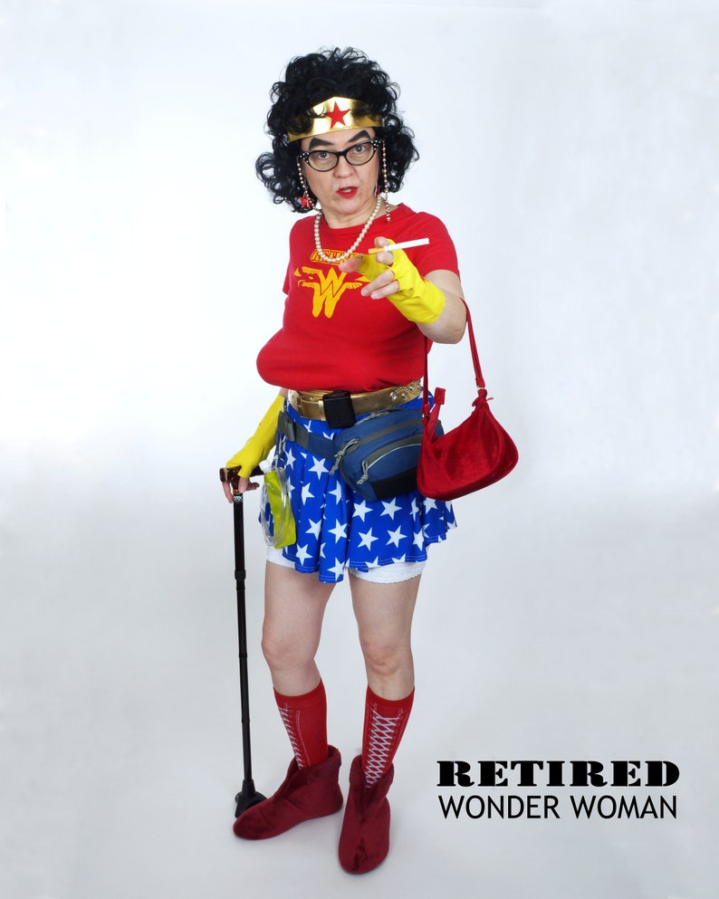 Is there a RETIRED WONDER WOMAN in your life    Celebrate image 0