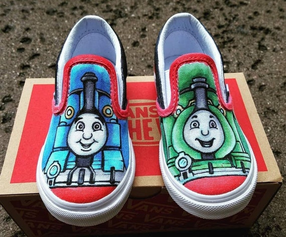 vans shoes with design