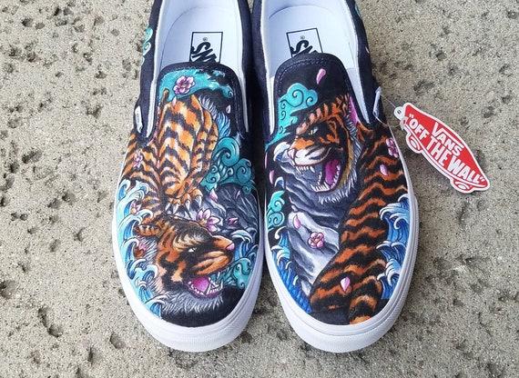 vans tiger