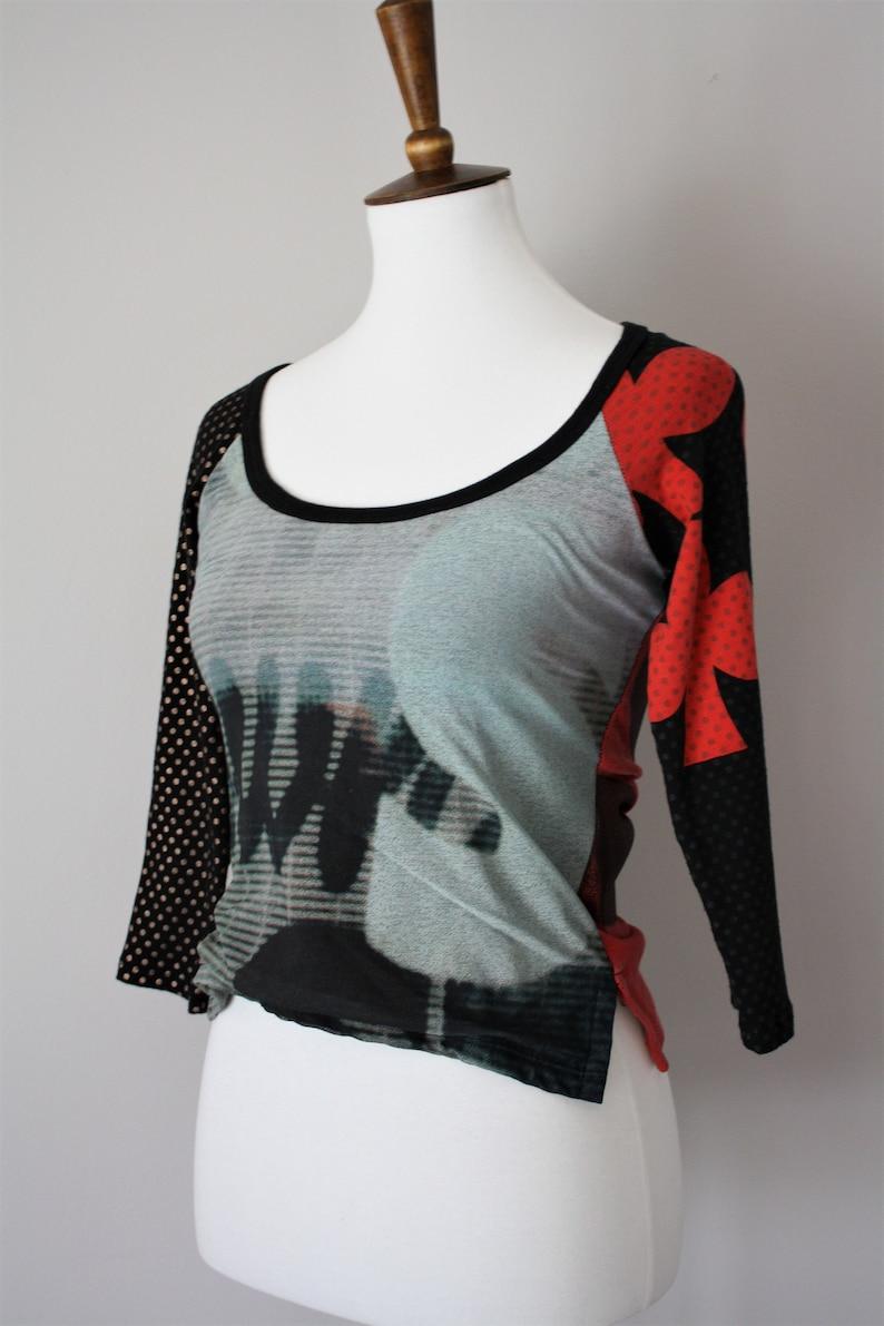 Custo Barcelona Vintage 90s Cotton Top  Shirt