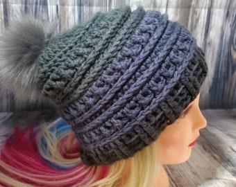Women s Fashion Crochet Beanie Hat 93f4d78be39