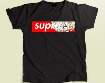 4d5da711b6cf Vegeta shirt, super saiyan t-shirt kids, men's and women's shirt, clothing,  unisex t-shirt, cotton black t-shirt, birthday gift