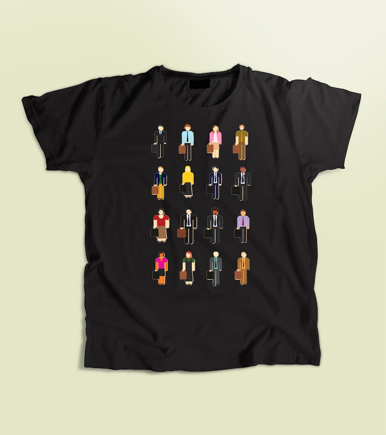 d0a20a599 The Office shirt Office t-shirt kids men's and | Etsy