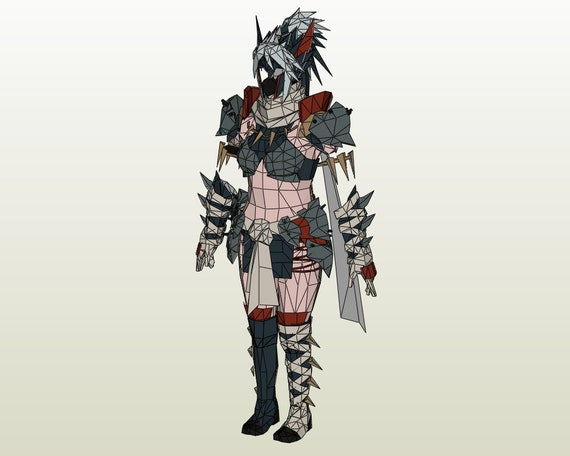 cosplay monster hunter female armor