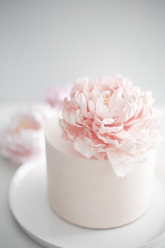 RosePeony Cake TopperDecoration
