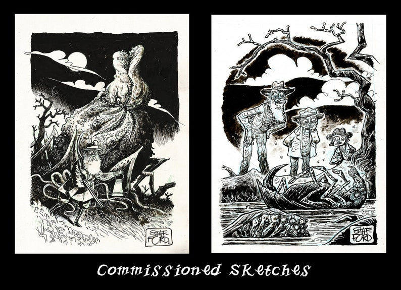 Commissioned Sketches image 0