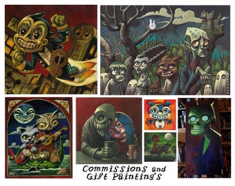 Commissions and Gift Paintings