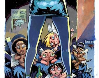 Cherubs! Comic book cover #2