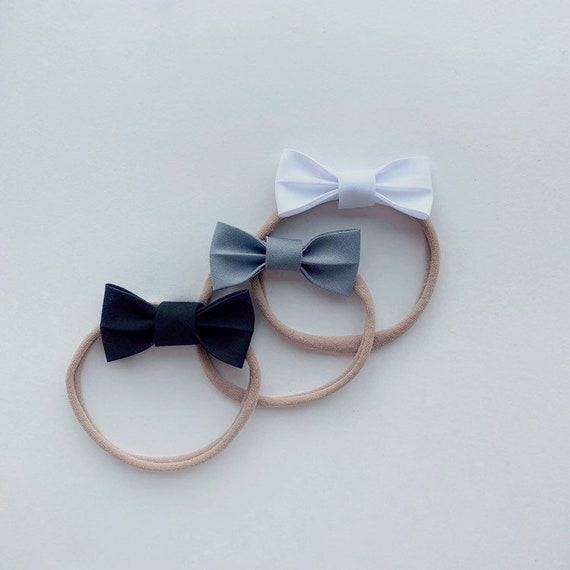 Headband or Clip Individual Bow Milly Bow