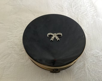 Vintage 58's Margaret Rose England Compact Powder. Woman's Compact Powder Box. Dressing Table Deco.Purse Accessories.Woman's Beauty.Her Gift