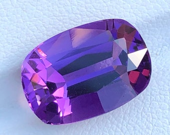 26X18X12MM Size 37 Carat Weight Deep Purple Amethyst,Loupe Clean Loose Oval Shape Faceted Natural Amethyst Gemstone AAAA++ High Quality