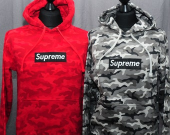 377992f4f10 SUPREME Combat CAMO HOODIE Fully Embroidered 6