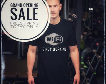 69d03d745410f9 Wi-fi is not working tee Short-Sleeve Unisex T-Shirt