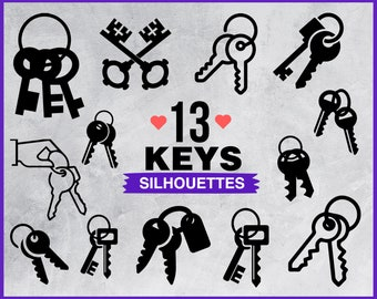 Key Clipart Etsy